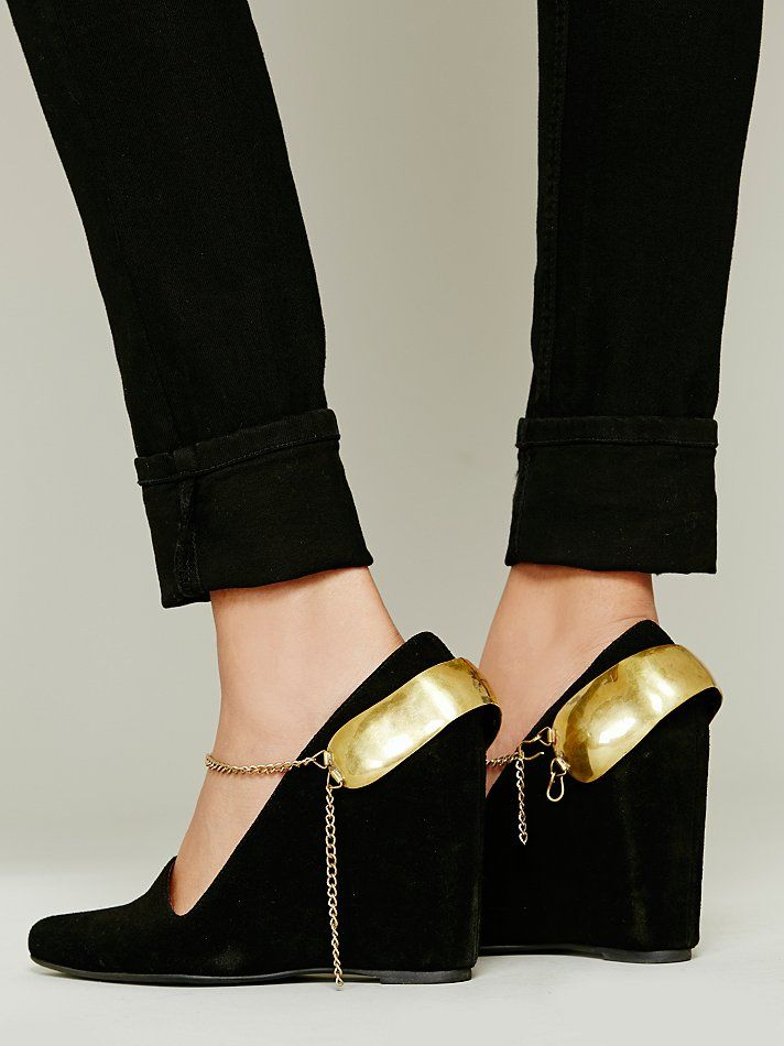 Mettle Calf Ankle Cuff at Free People Clothing Boutique