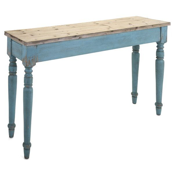 Alec Wooden Console Table   Console tables, Foyers and Consoles