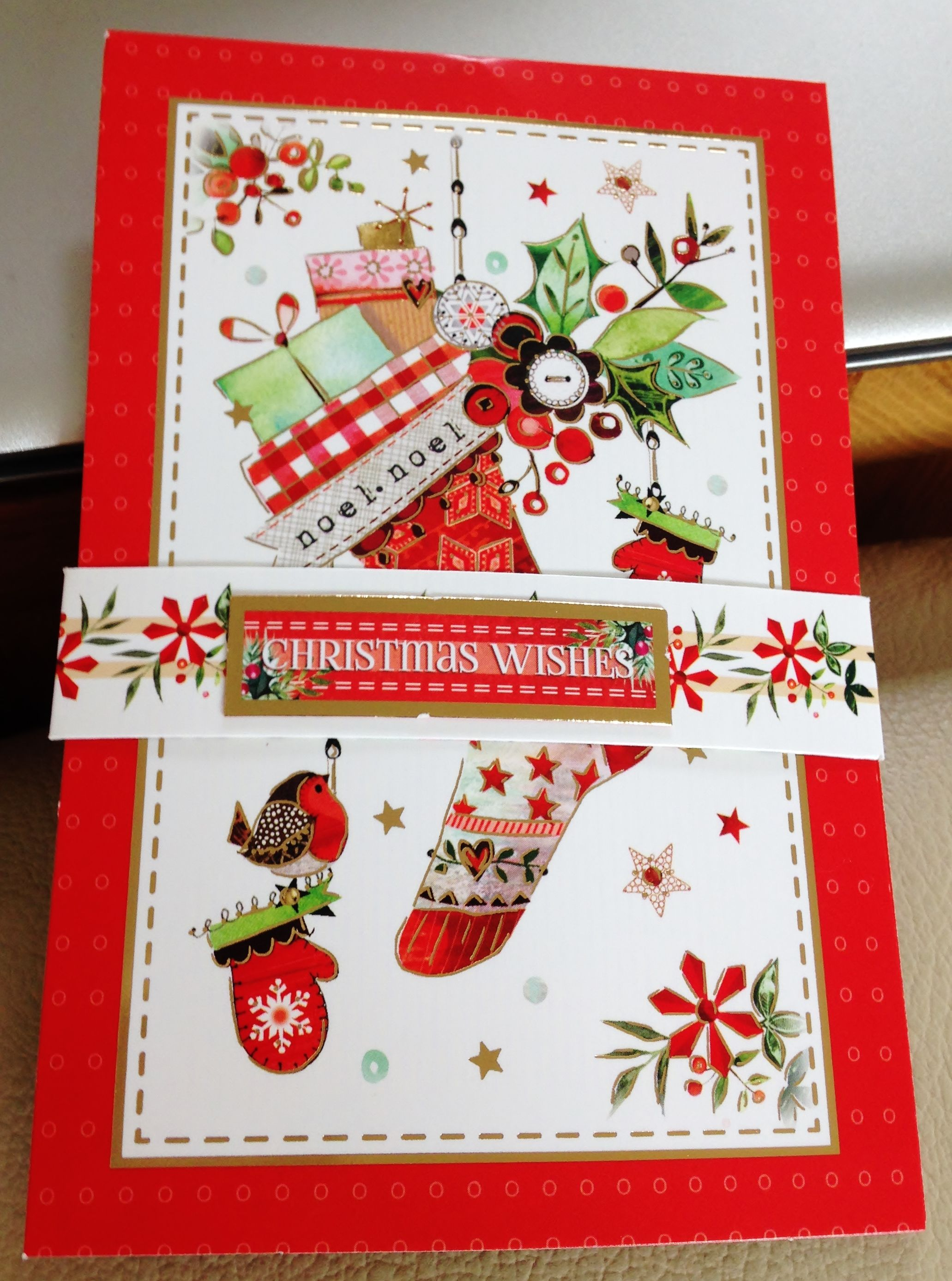 christmas card closed pop up card makings from hunkydory - Christmas Card Closings