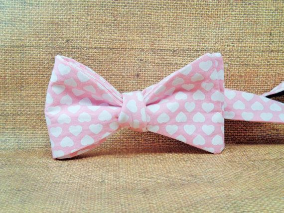 cotton valentines day bow tie adult bow ties by lookformebowties - Valentine Ties