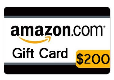 200 amazon gift card giveaway