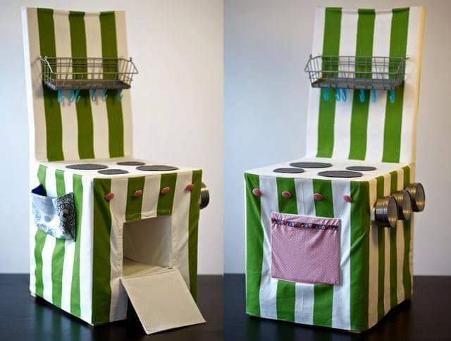 play kitchen chair cover for kids (3) | DZIECKO | Pinterest ...