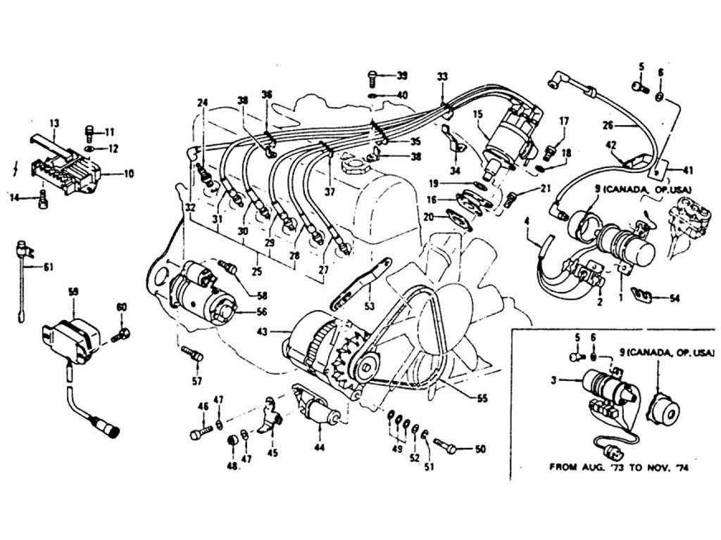 Engine Electrical Amp Fitting Parts