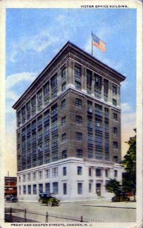 Currently the Board of Education Building located at Front and Cooper Streets, Camden, NJ