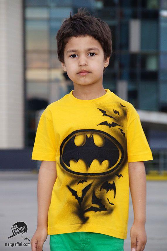 33488566 Camiseta BATMAN para niños Camiseta de héroe Top boy de | fiesta ...