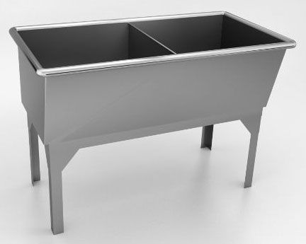 Superb Standing Lightweight, Durable, Extra Deep Laundry Or Utility Sinks .