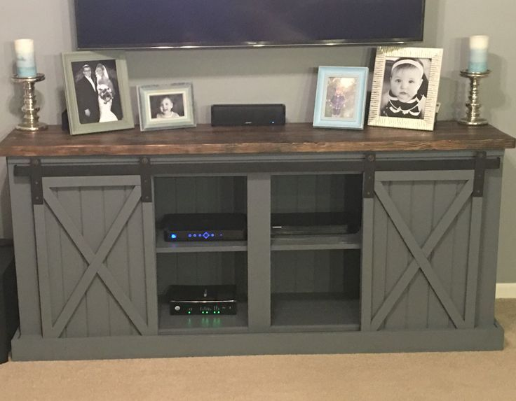 Diy Entertainment Center For Your