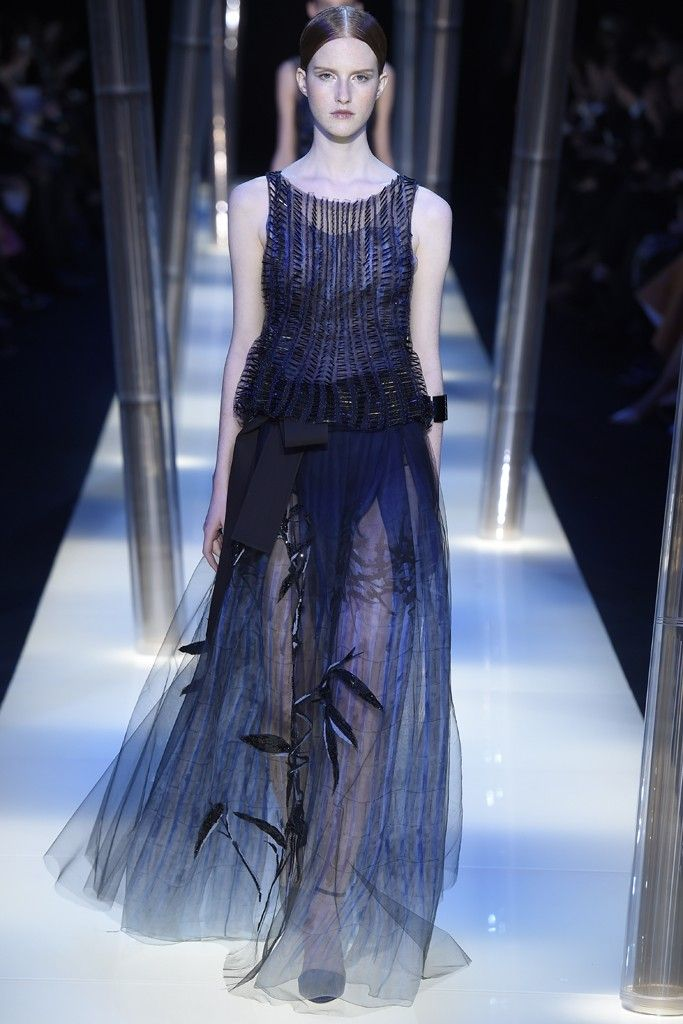 Giorgio Armani Privé Couture Spring 2015 - Slideshow - Runway, Fashion Week, Fashion Shows, Reviews and Fashion Images - WWD.com