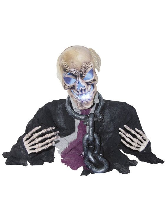 Animated Groundbreaker with Chains #Halloween #Props #Decorations