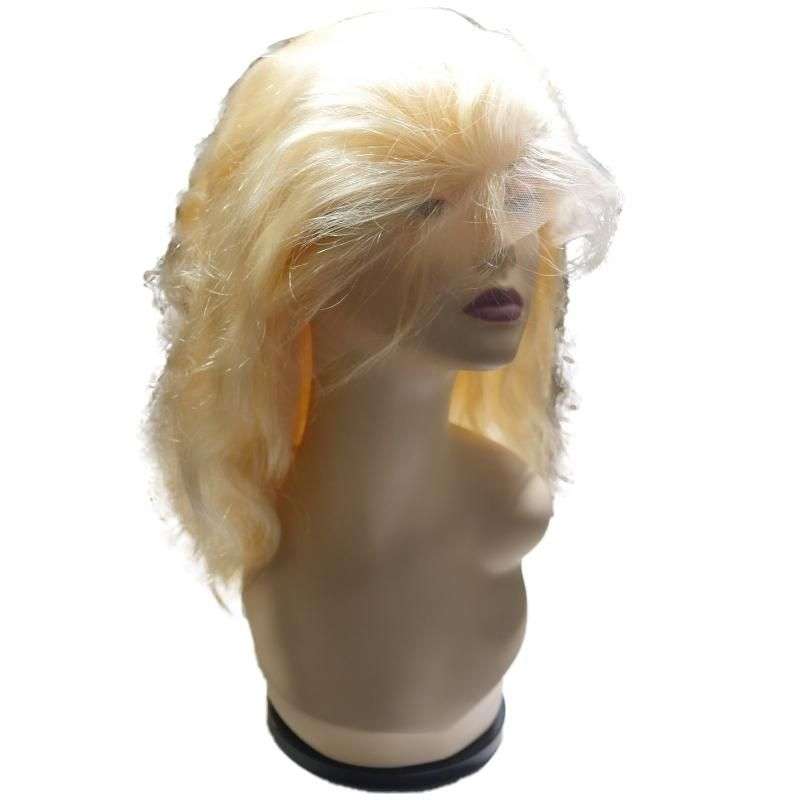 Front Lace Blonde Body Wave Wig – 26 180%