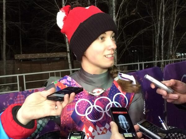 """@CDNOlympicTeam  8m """"Pretty amazing"""" - @KimMcRaeLuge on her first Olympics where she finished 5th in women's luge. #WeAreWinter pic.twitter.com/SlxKNxNoXq"""