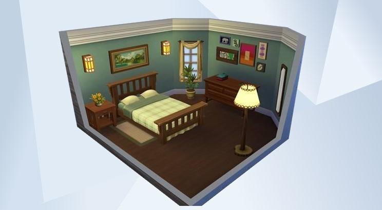 Sieh dir dieses Zimmer in der Die Sims 4Galerie an! Die