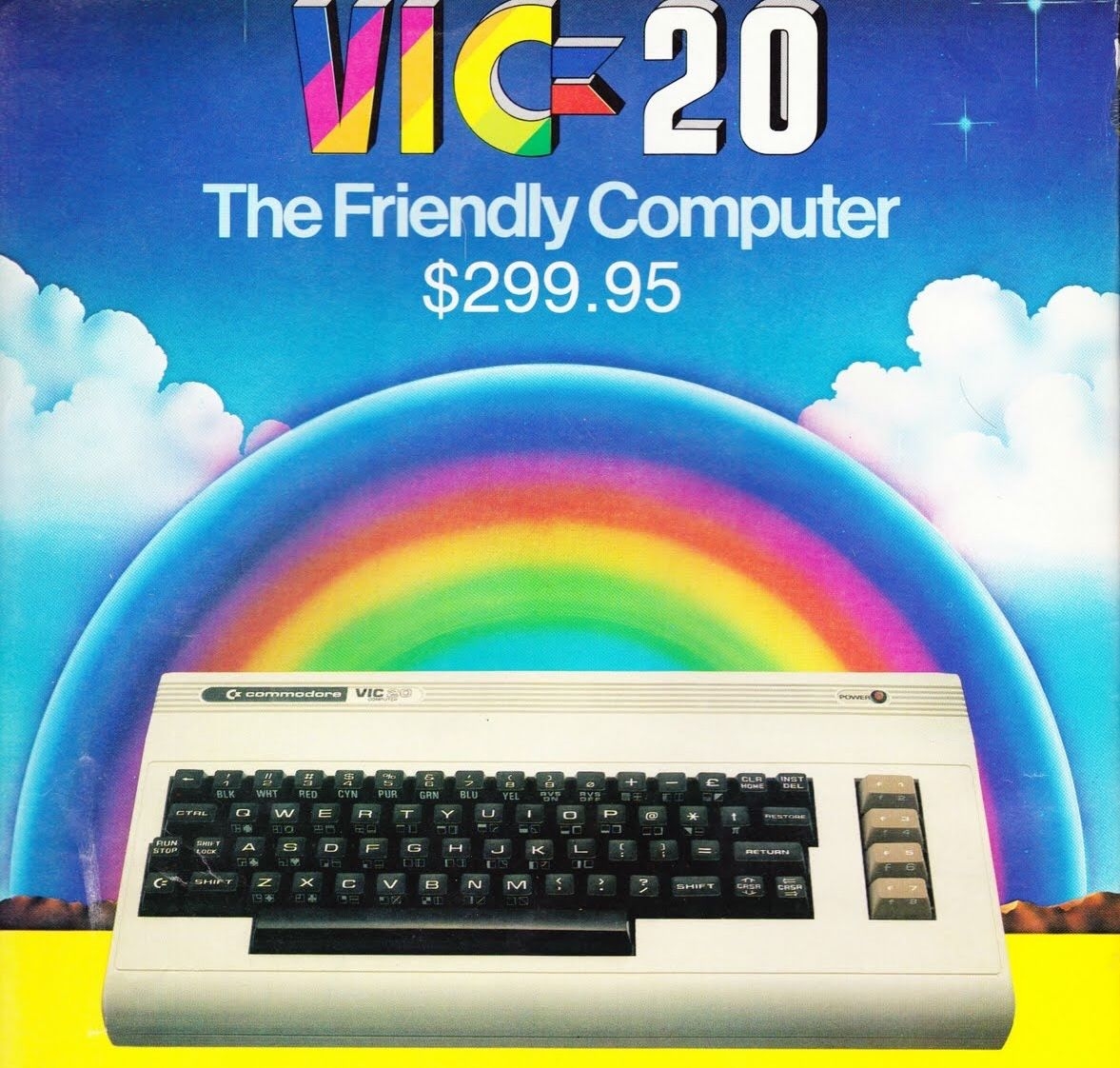 The Vic 20 Was An 8 Bit Home Computer Which Was Sold By Commodore