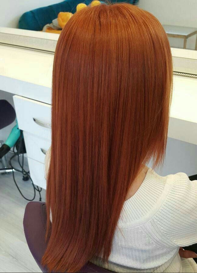 Pin by shady on straight hair | Pinterest | Hair, Copper ...