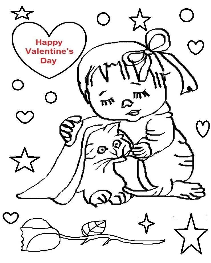 Valentine S Day Coloring Pages Printables Valentine S Day Coloring