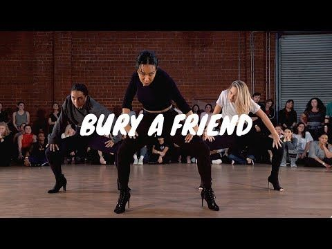Fitness Music - Billie Eilish- Bury a Friend- GALEN HOOKS Choreography ft. Maddie Ziegler, Charlize...