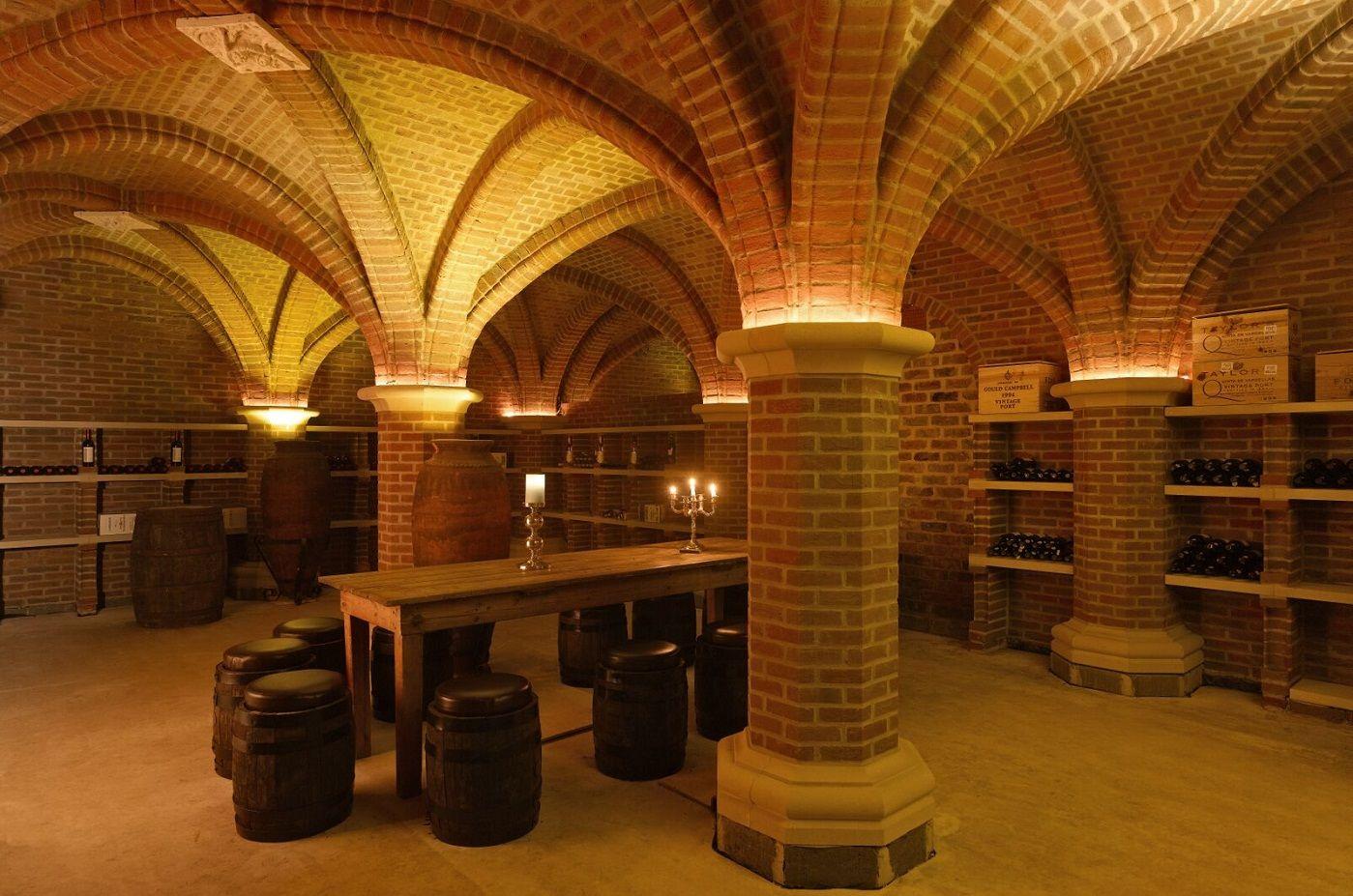 The Stunning Tupgill Cellar At Leyburn Crafted From York Handmade Bricks Weinkeller Weinkeller Keller Gewölbekeller
