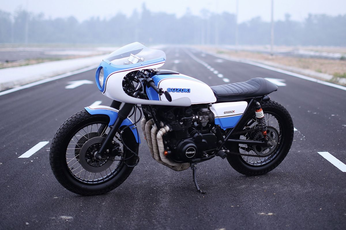 Cooley Suzuki Gs550 Cafe Racer Motorcycles Bikers And More