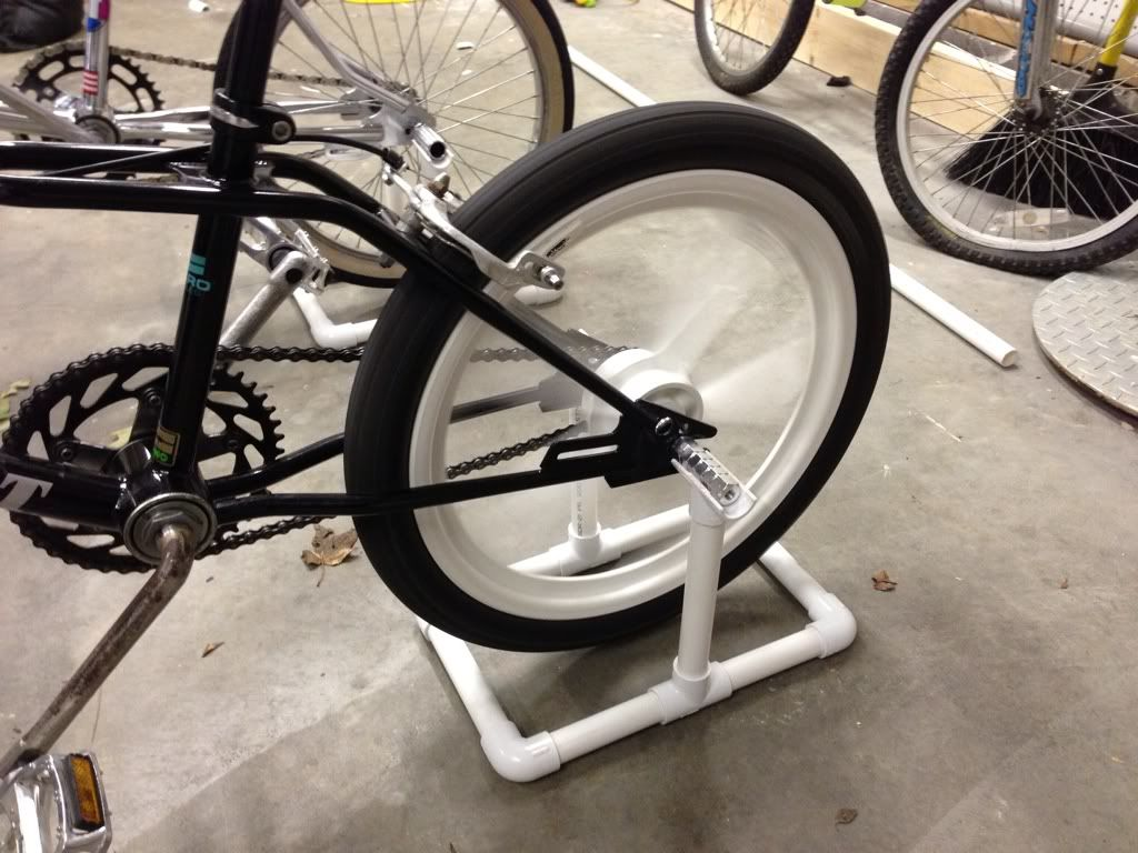 turn your bike into an exercise bike diy