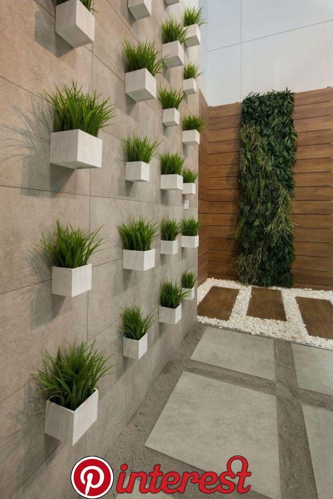 Verjas Modernas Las Mejores Ideas Y Disenos Garden Wall Decor