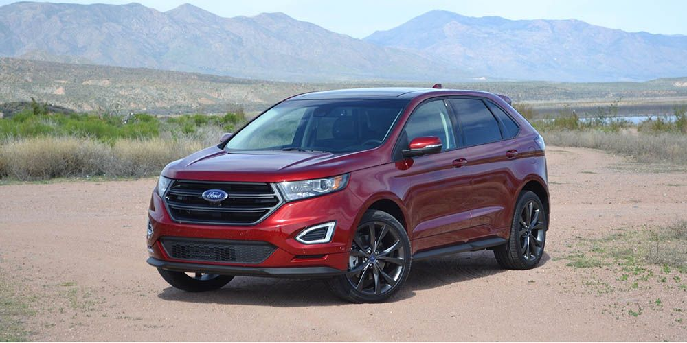 2017 Ford Edge updated compact crossover http