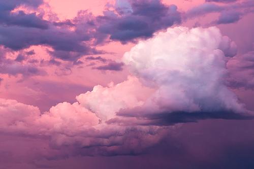 3 Via Tumblr Sky Nice Pink Cute Clouds Anime Sweet Lovely Manga Random Instafollow Tagforlikes Color Clouds Purple Sky Sky And Clouds