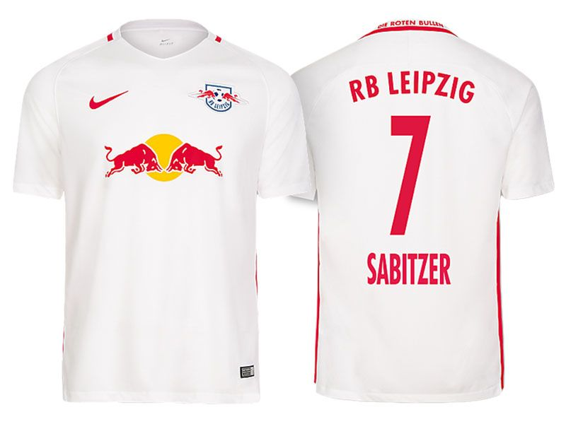 83acc4978511d Red Bull Leipzig Jersey marcel sabitzer Home 2016-17 Shirt