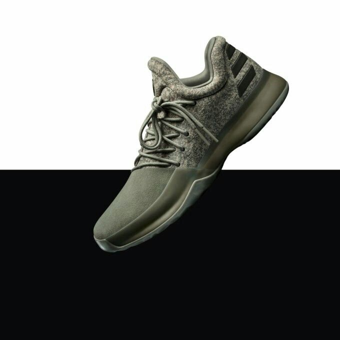 36666bc4ac82 authentic adidas harden 1 white nails f868d b3cc1