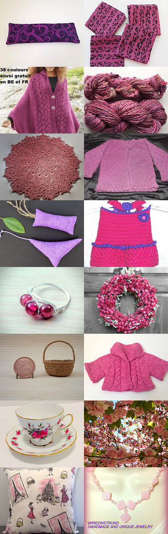 Shades of girly girls by Brandi Duncan on Etsy--Pinned+with+TreasuryPin.com