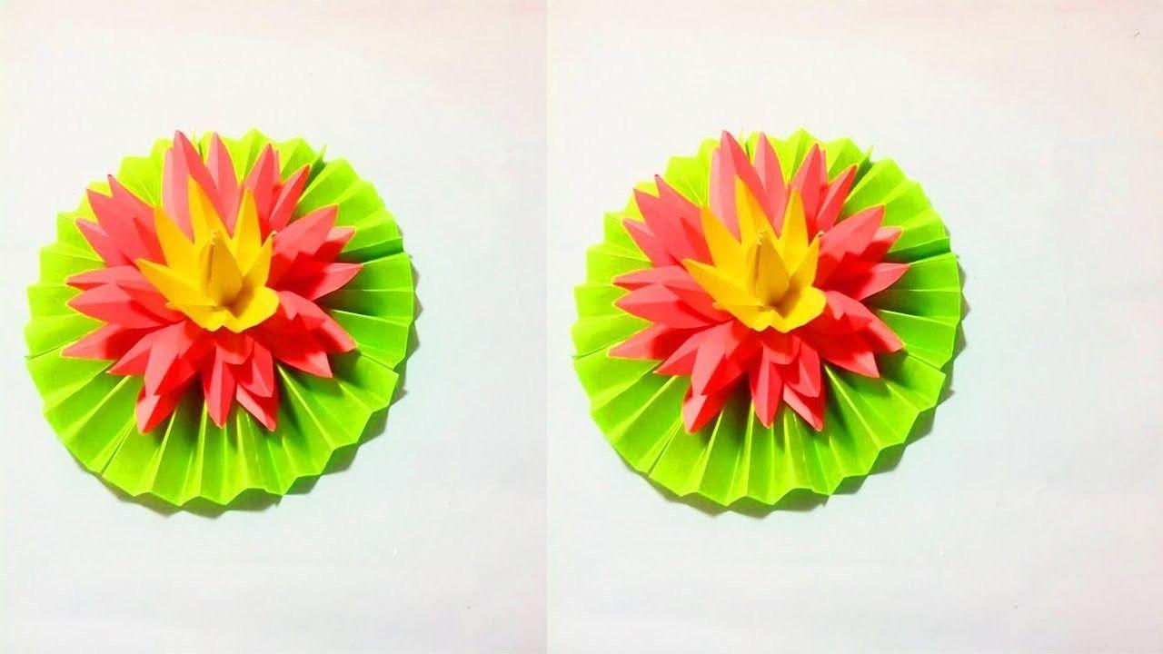 Easy paper flower making paper flower tutorial flower tutorial easy paper flower making diy easy paper flower tutorial crafts design mightylinksfo