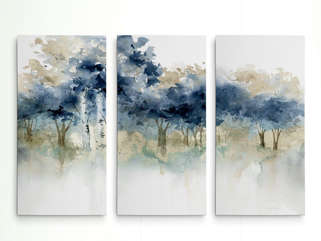 Waters Edge I Acrylic Painting Print Multi Piece Image On Wrapped Canvas Abstract Painting Prints Painting