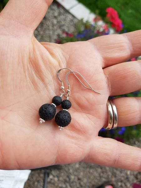 Photo of Awaken Essential Oil Diffuser Earrings-Aromatherapy Jewellery