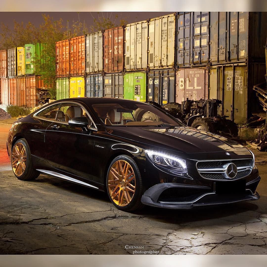 Brabus S63 Coupe With Carbon Fiber Elements And Monoblock F 21