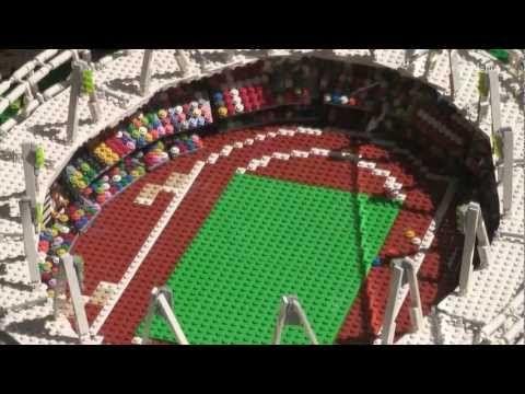 LEGO Olympic Stadium London 2012