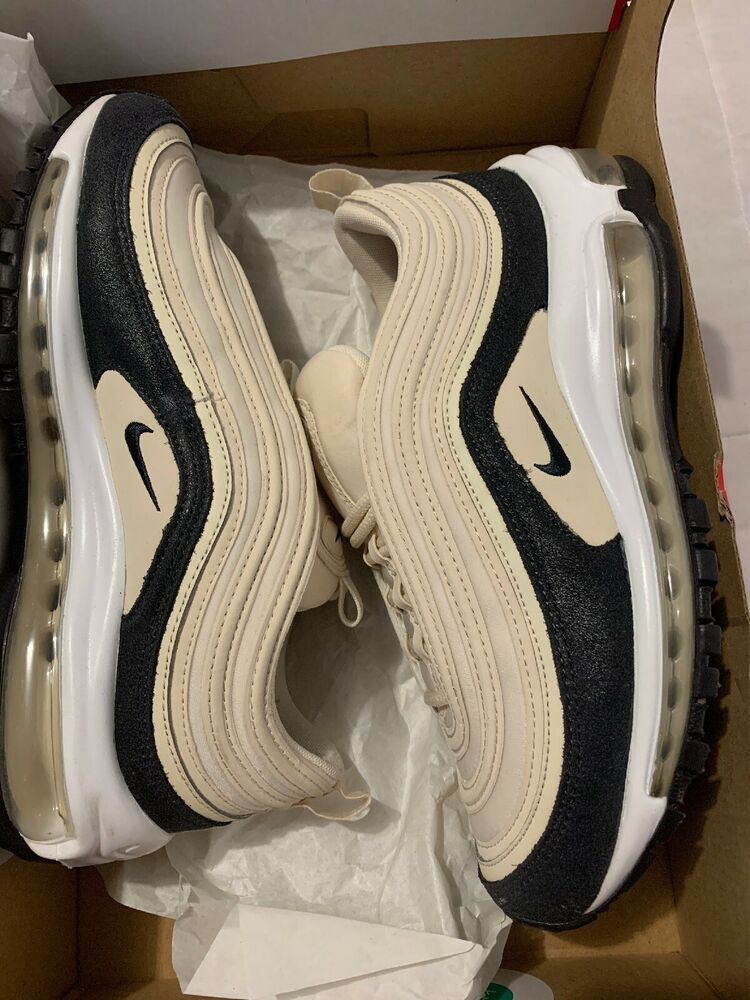 Nike W Air Max 97 Prm 917646 202 Light Cream Oil Grey Size 7 5 Nike Airs This Is A Link To Amazon And As An Amazon Associate I Ear Nike Air Sport Shoes Nike