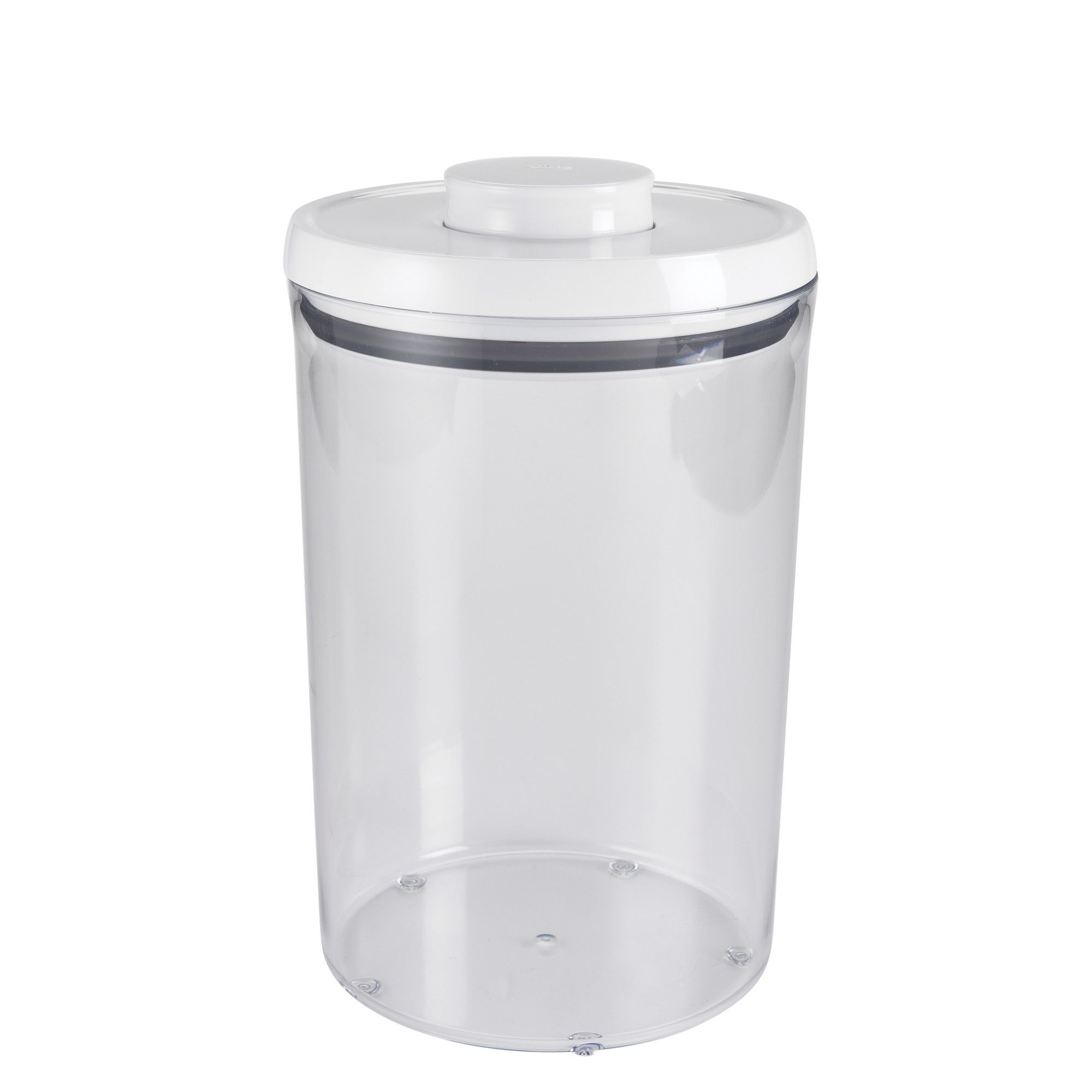 Cassettiera cucina kosher : Good grips 4.5 quart round pop canister canisters and pop