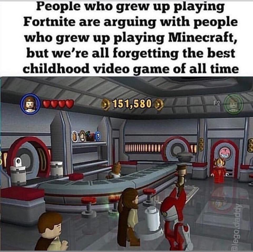 Lego Star Wars The Complete Saga Is The Og Game Funny Star Wars Memes Star Wars Humor Star Wars Memes