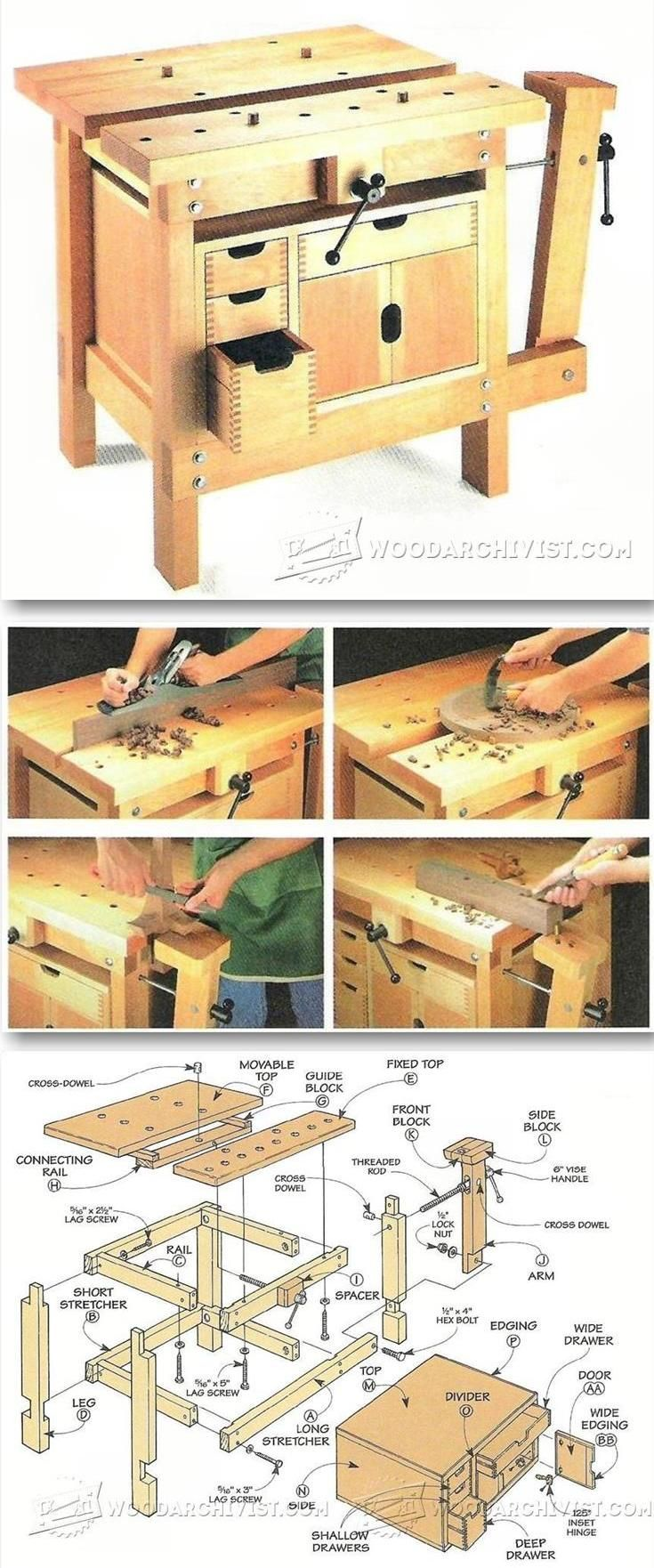 Small Workbench Plans Workshop Solutions Plans Tips And Tricks