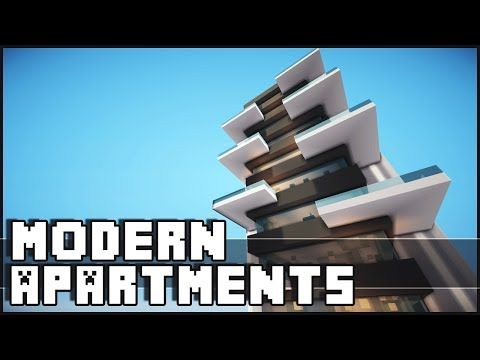 Minecraft House How To Build Modern Row Houses Part 1 You