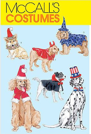 DOG HALLOWEEN Costume Sewing Pattern - Pets Witch Dracula Devil ...