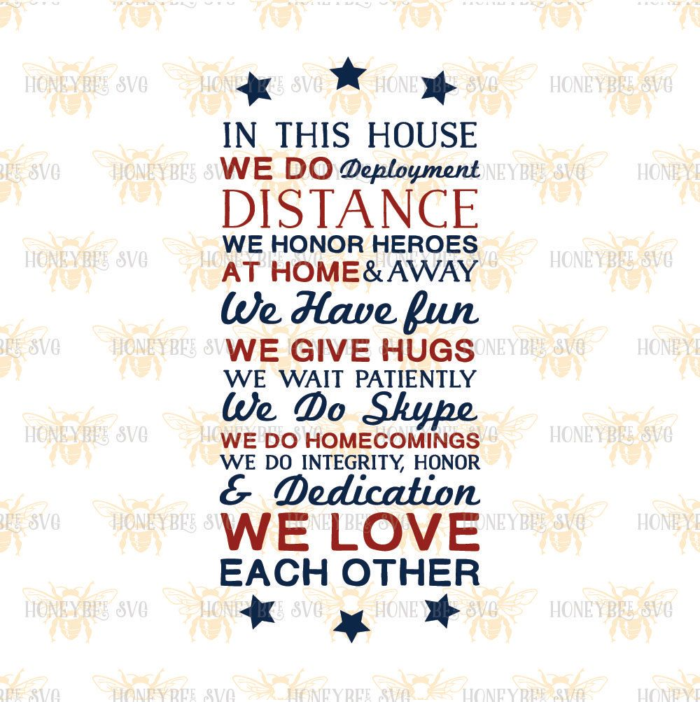 Military House Rules Svg Etsy Military Housing Cricut Svg
