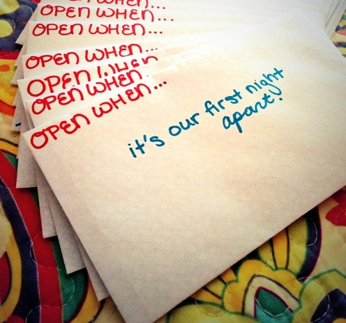 Open When Love Letter Ideas Abre cuando.......