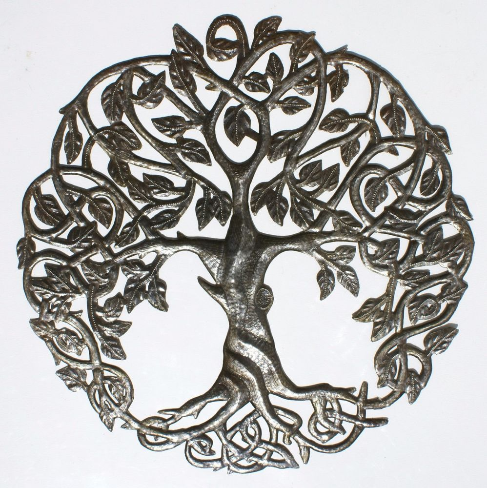 Tree Of Life Garden Wall Art Uk Sofia Butella
