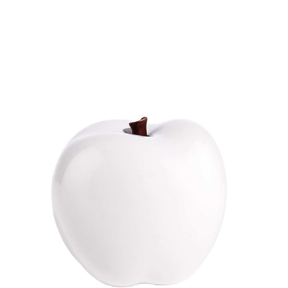 PERFECT BITE Keramikapfel glänzend    Wohlgeformt und makellos: Der Perfect Bite-Keramikapfel glänzt zum Anbeißen schön, ist aber weniger zum Reinbeißen als vielmehr zur Dekoration gedacht. Zum Beispiel für Schalen und Teller, in der Küche und im Esszimmer, als Einzelobjekt oder in Kombination mit weiteren Dekoäpfeln in Grün, Rot und / oder Weiß.    Größe: Ø 9 cm  Material: Keramik  RAKUTEN_TIT...