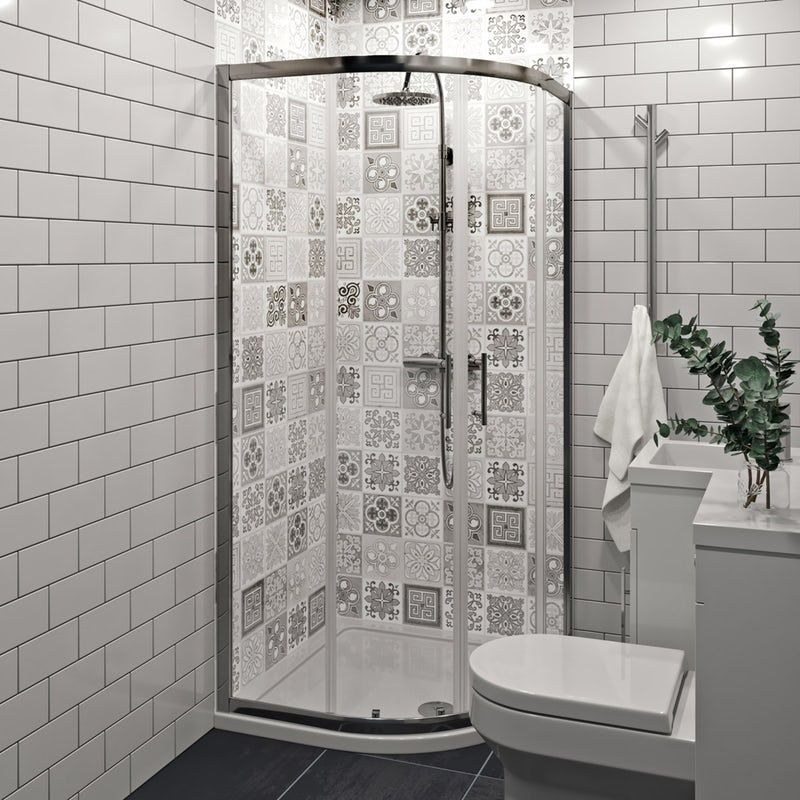 showerwall custom victorian grey acrylic shower wall panel on shower wall panels id=11218