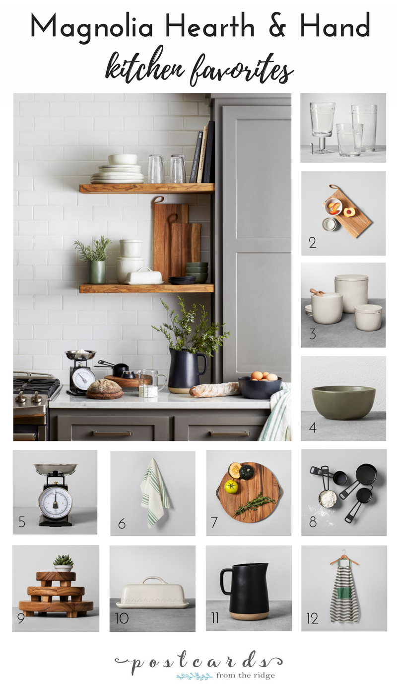 Favorites From The Magnolia Hearth And Hand Collection From Target Magnolia Home Decor Magnolia Kitchen Kitchen Themes