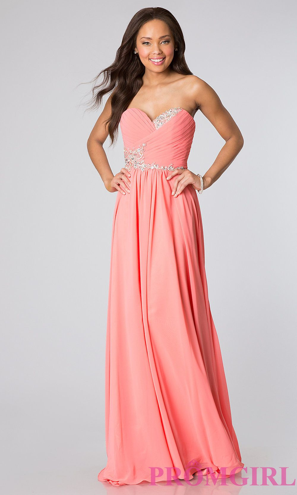 24b303a987af3 Long Strapless Gowns for Prom, JVN by Jovani Dresses- PromGirl ...