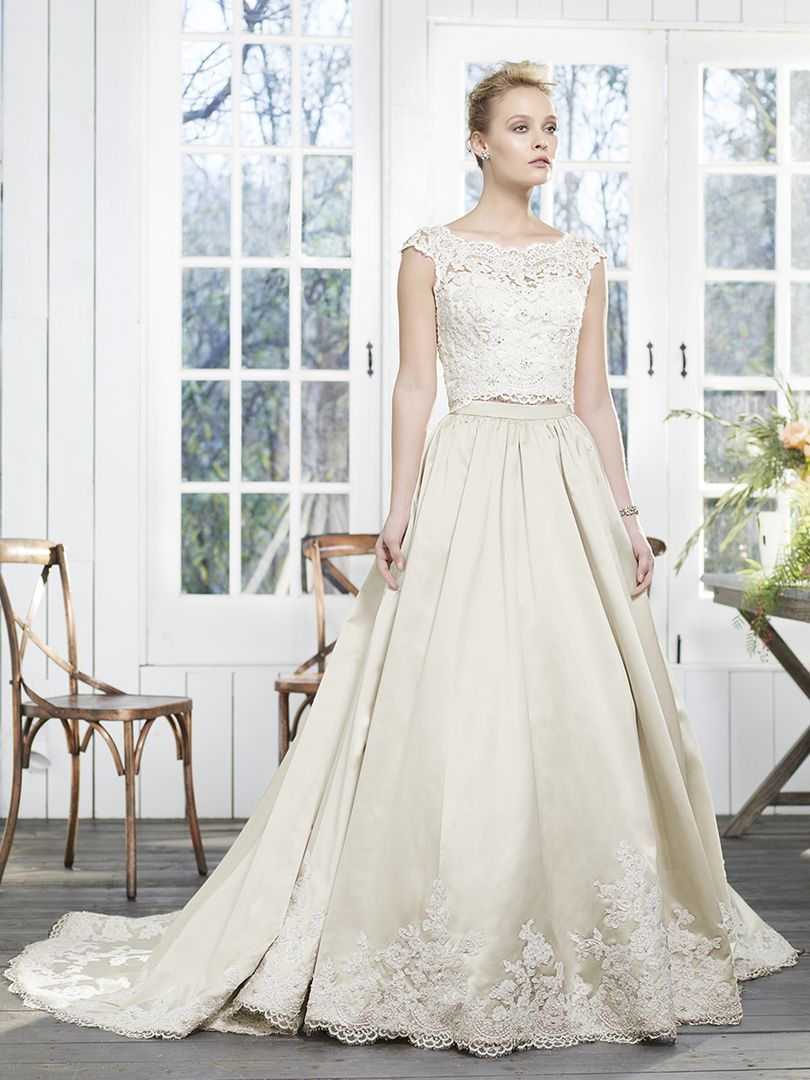 Casablanca Bridal Style 2260 Peony Edgy Brides With A Soft Side