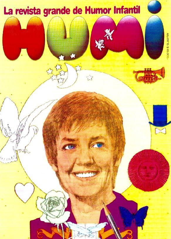 Revista HUMI, Argentina (1982-1983) y la inolvidable María Elena Walsh
