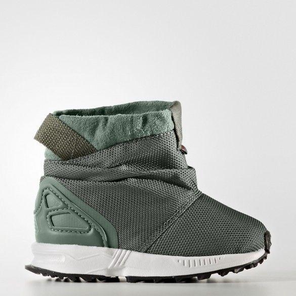 Детские кроссовки Adidas Originals ZX Flux Trail BY9065 • Водостойкий  верхний материал защитит от непогоды • 0825ddbf4ba83